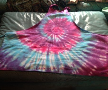 The apron that started the dyeing thing up.